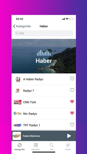 AndroTurk Radyo - Radyo Dinle en App Store