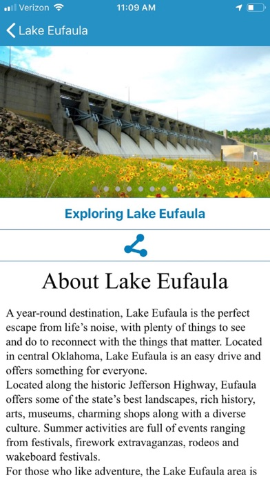 Explore Lake Eufaula screenshot three