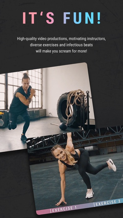 HIIT the Beat by Breakletics screenshot two