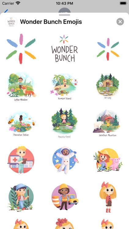 Wonder Bunch Emojis