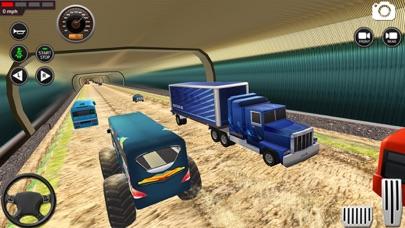 モンスター バス 未舗装道路 レーシング 3Dのおすすめ画像6