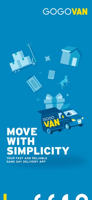 Gogovan Your Delivery App On The App Store