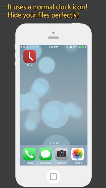 Clock Vault - Lite screenshot-4