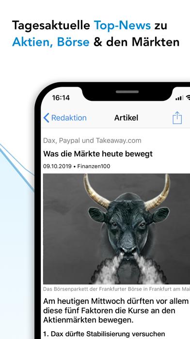 Finanzen100 - Börse & Aktien screenshot three