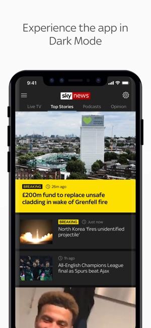 Sky News: Breaking, UK & World on the App Store