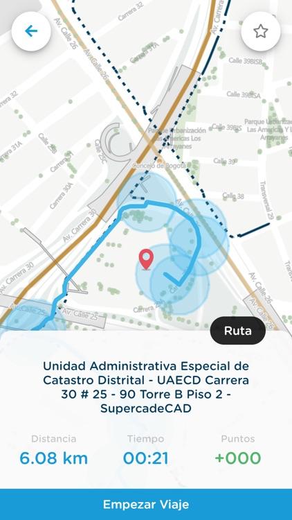 Mapas Bogotá Bici