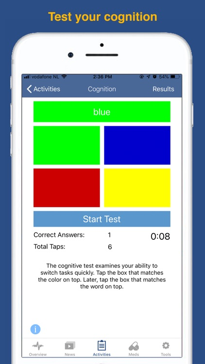 Parkinson's LifeKit screenshot-6