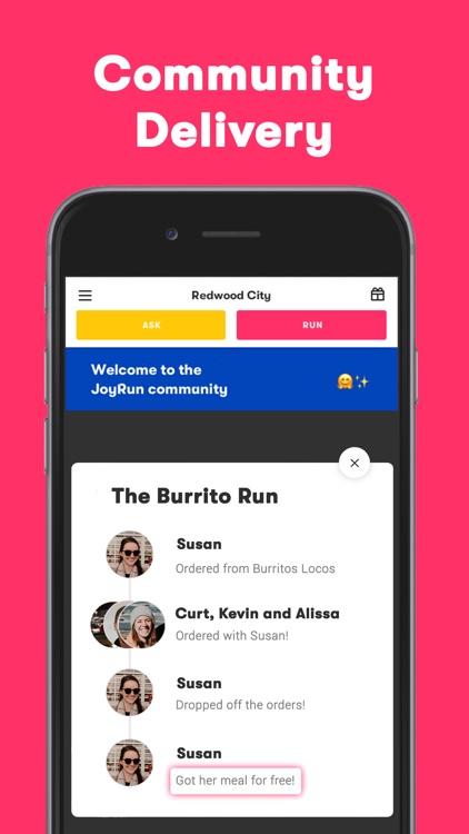 JoyRun: Community Delivery