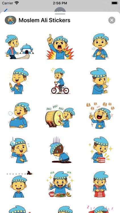 Moslem Ali Stickers