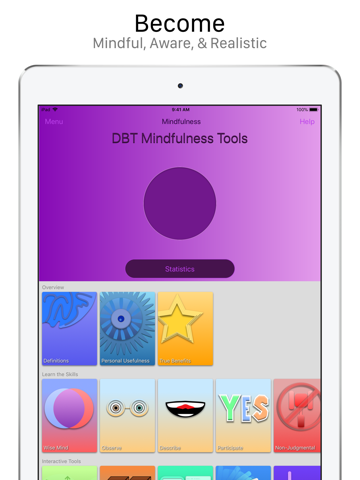 DBT Mindfulness Tools - náhled