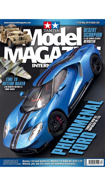 Tamiya Model Magazine screenshot-0
