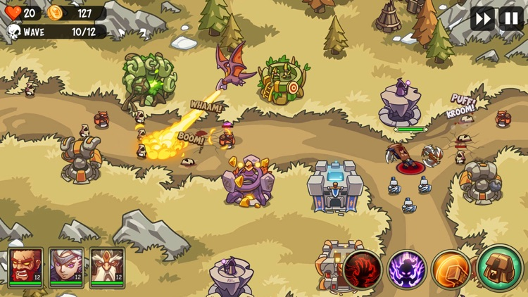 Empire Warriors: Tower Defense