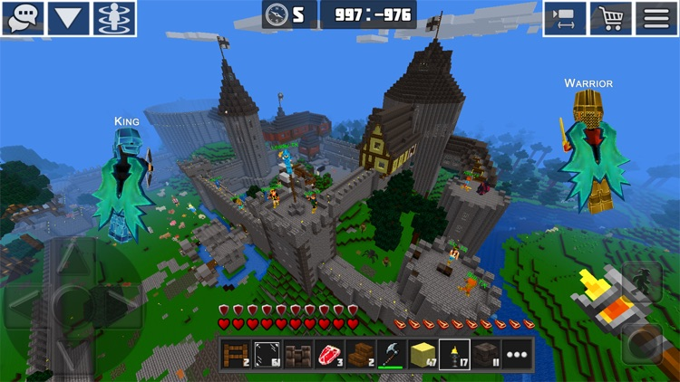 PlanetCraft: Block Craft Games screenshot-2