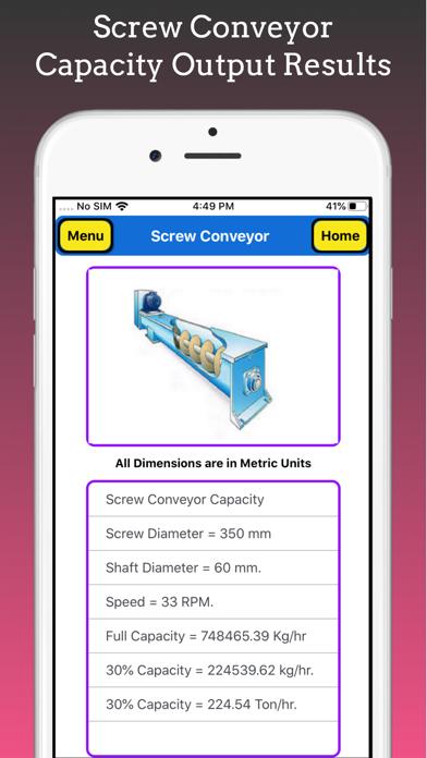 Screw Conveyor Pro screenshot 6