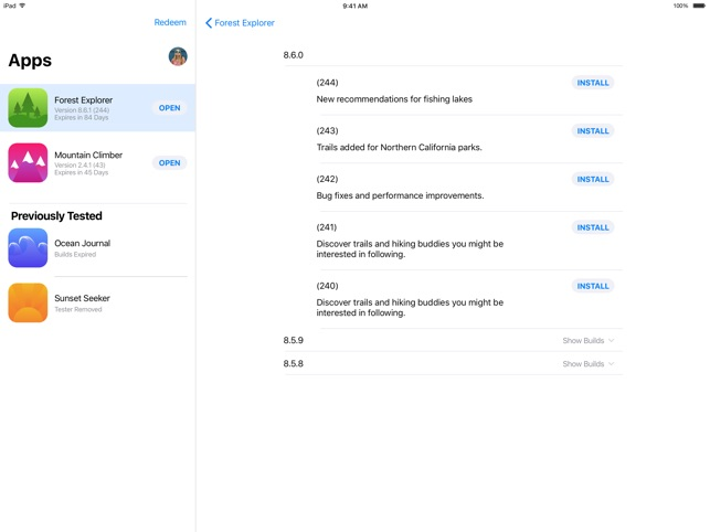 TestFlight on the App Store
