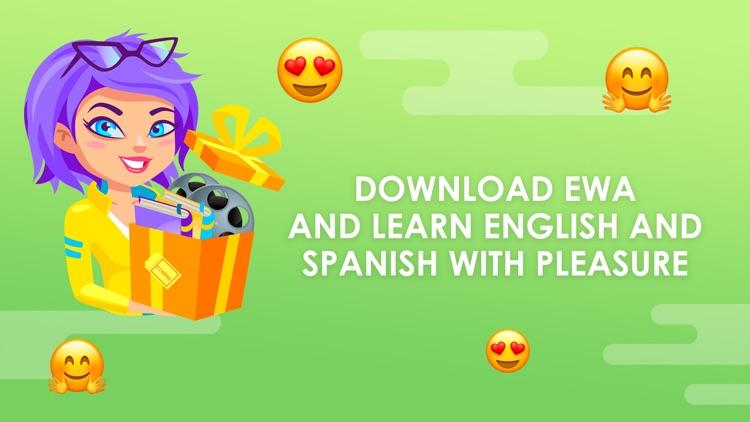 EWA: Learn English & Spanish screenshot-6