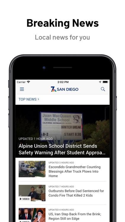 NBC 7 San Diego: News & Alerts screenshot-0