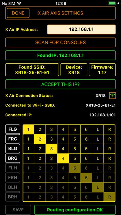 X Air Axis screenshot 4