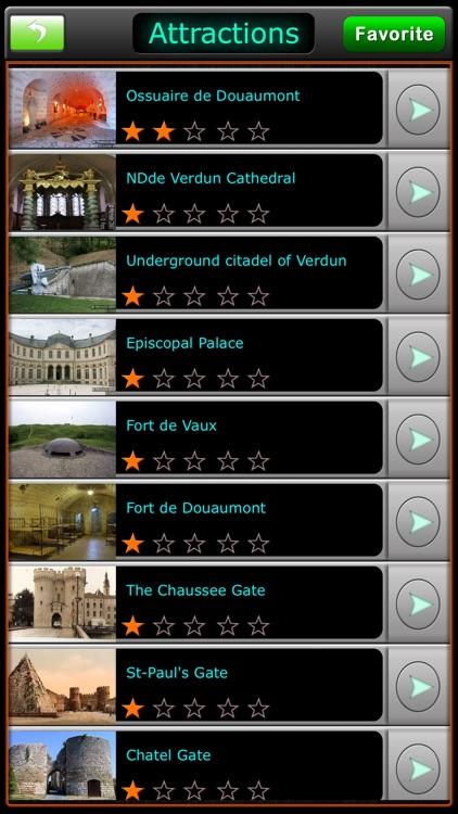 Verdun Offline Map City Guide