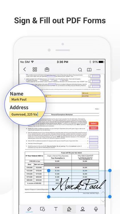 PDF Reader Pro - Sign,Edit PDF screenshot-3