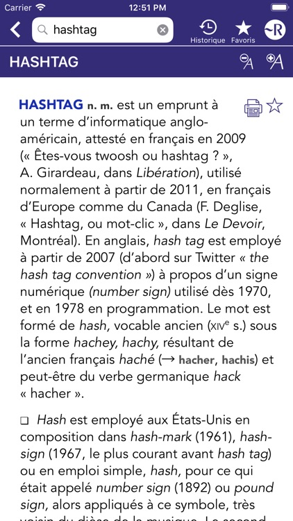 Dictionnaire Robert Historique screenshot-5