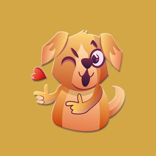 Golden Retriever Dog Stickers