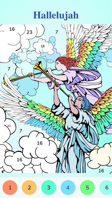 Download Bible Coloring Paint by Number for Pc