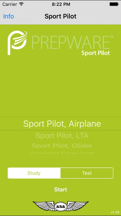 Prepware Sport Pilot