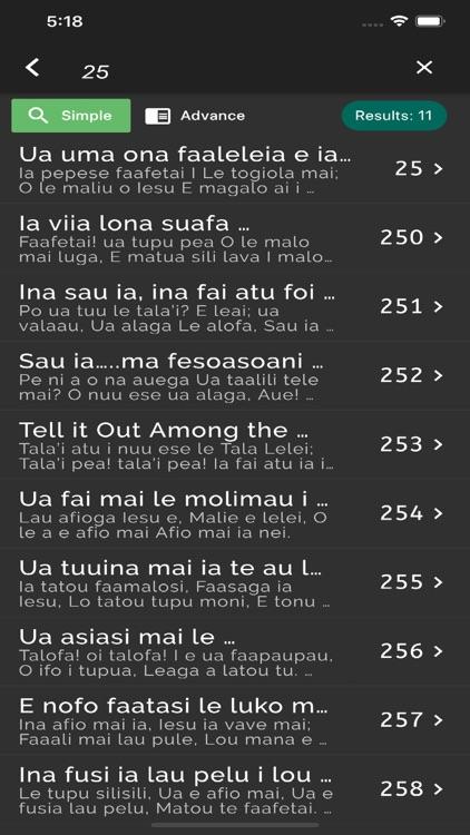 Samoan Hymn screenshot-3