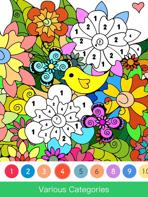 iPad Image of Paint.ly - Color by Number Art