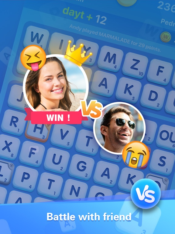 Word Crush - Social Game screenshot 8