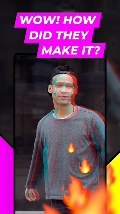 VOCHI Cool Video Effects Maker screenshot-3