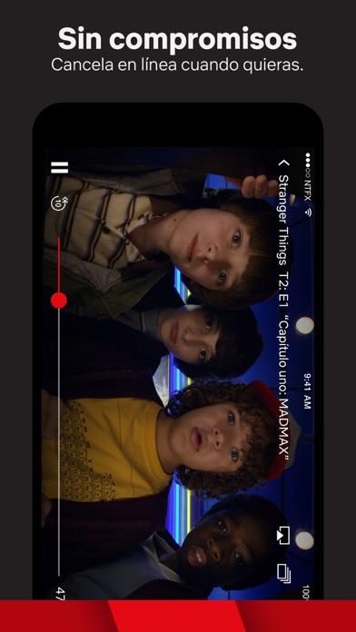 Screenshot for Netflix in Spain App Store