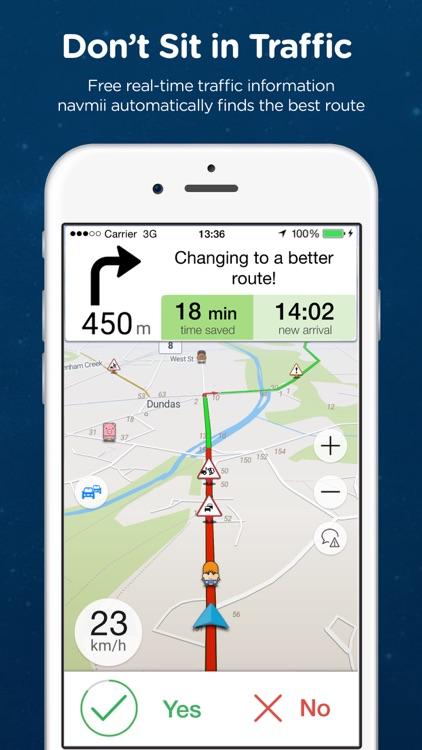 Navmii Offline GPS Canada