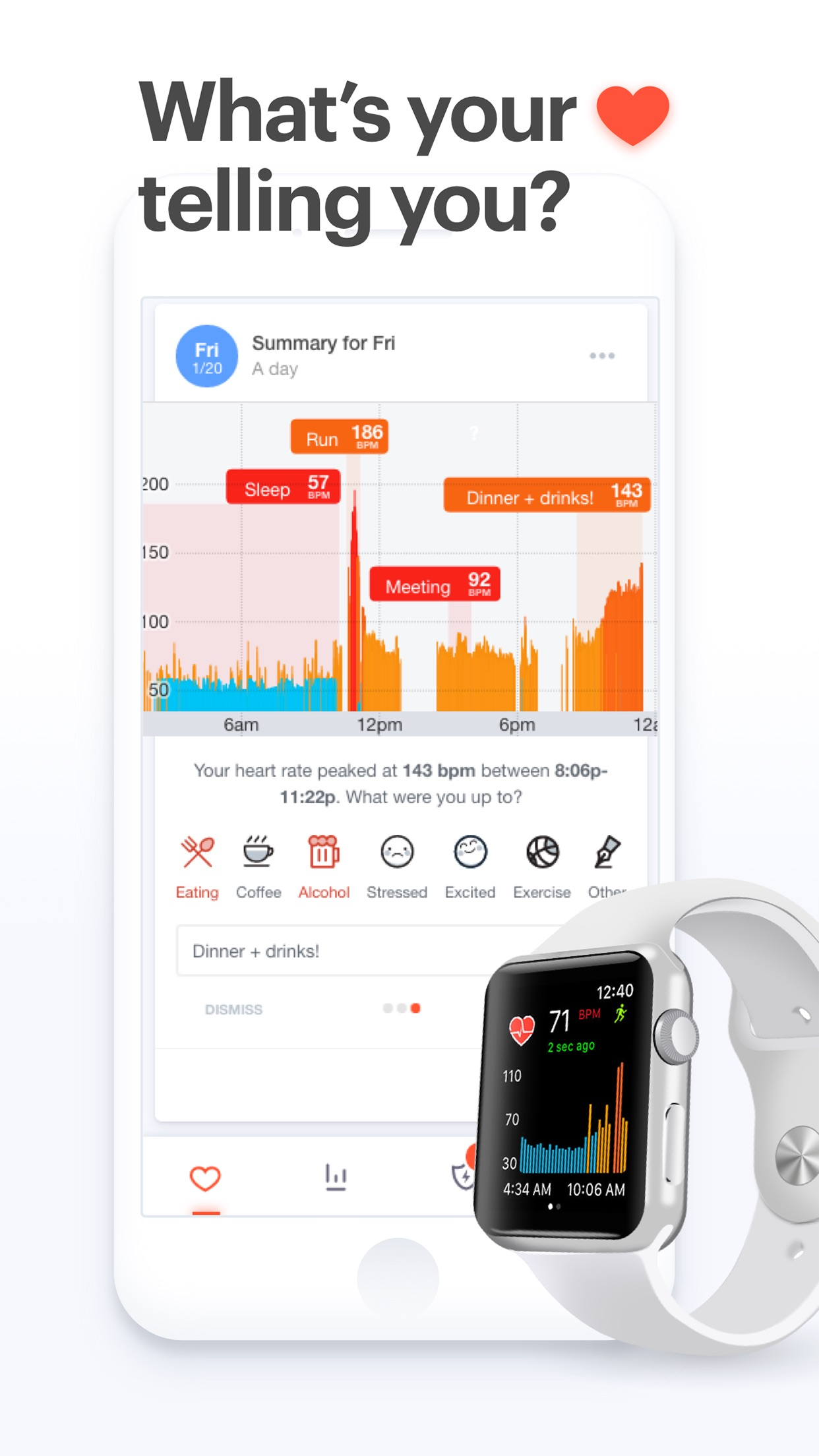 Cardiogram: Heart Rate Monitor Screenshot
