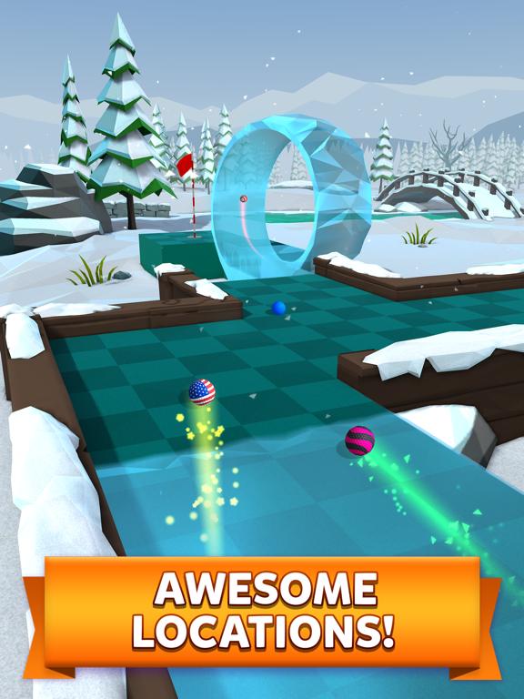 Golf Battle iPad app afbeelding 3