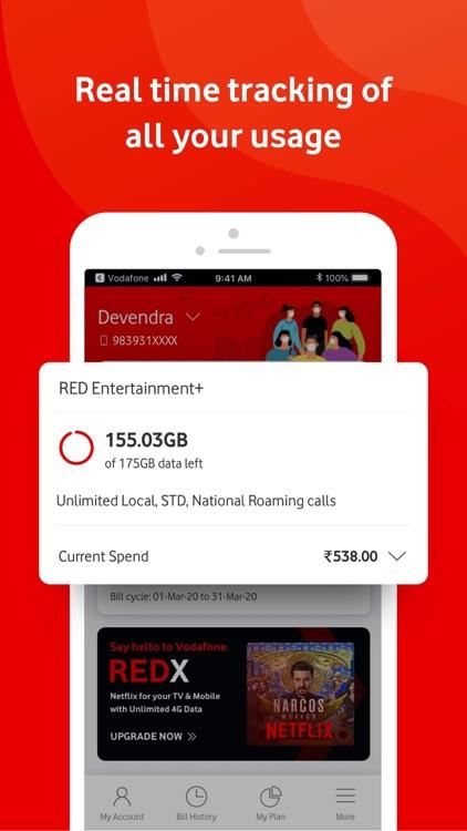 MyVodafone (India) screenshot-4