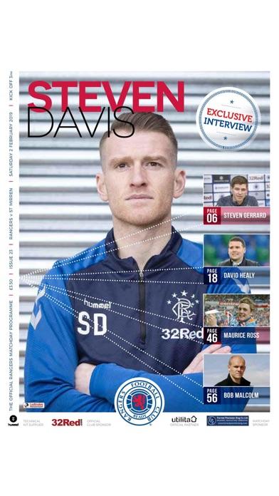 Rangers FC Digital Programme screenshot 9