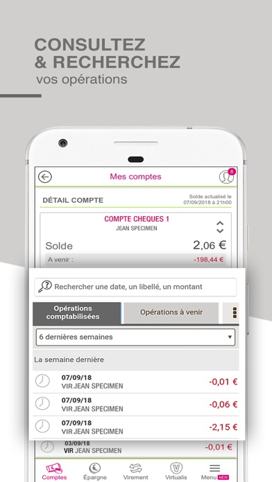 CMSO Suivi de compte et budget screenshot two