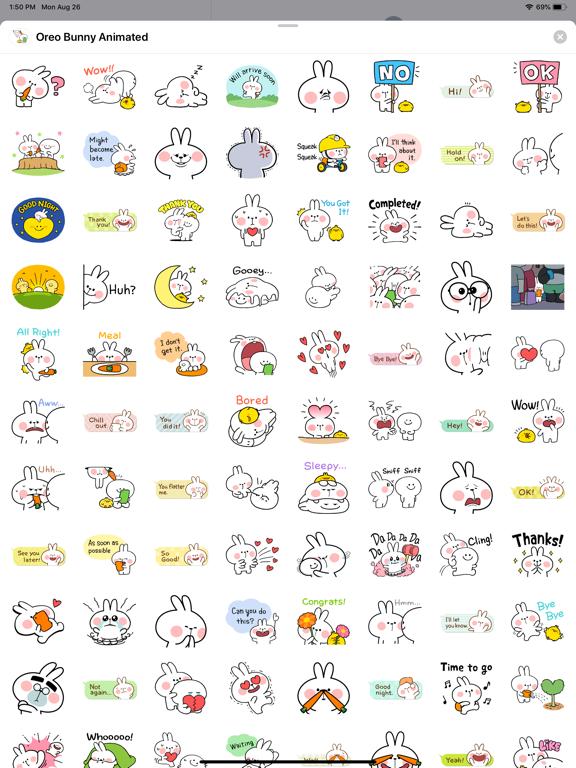 Oreo Bunny Animated screenshot 8