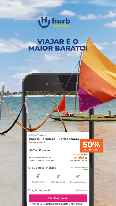 Baixar Hurb Promoção Hotéis e Pacotes para Android