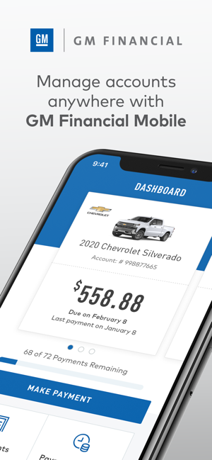 Gm Financial Phone >> Gm Financial On The App Store