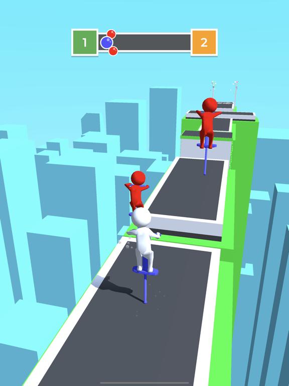 Pogo Race.io screenshot 4
