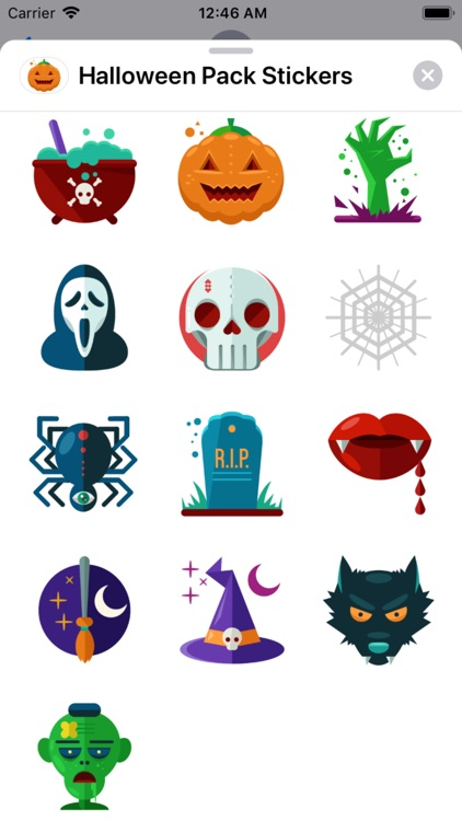 Halloween Pack Stickers