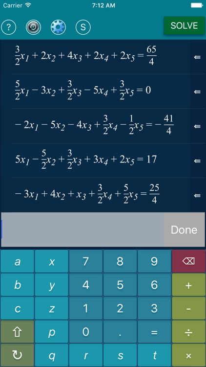 Math Equation Solver - ESolver