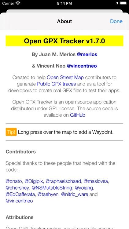 Open GPX Tracker screenshot-6