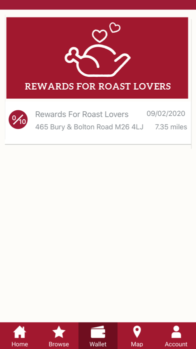 Screenshot for Toby Carvery in United Kingdom App Store