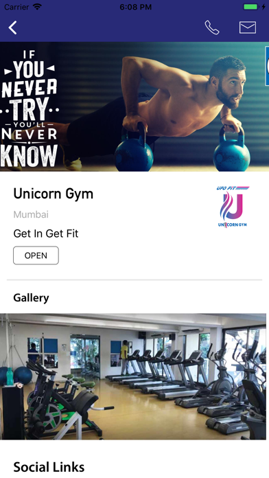 Unicorn & UFO Fit Gym screenshot 1