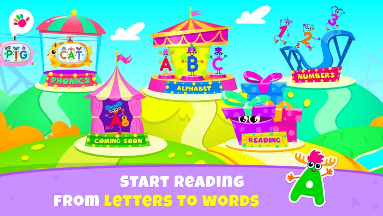 Games for Kids Read ABC Letter