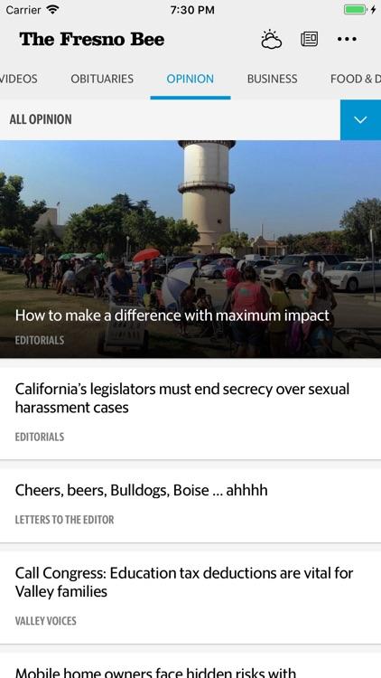 Fresno Bee News screenshot-3